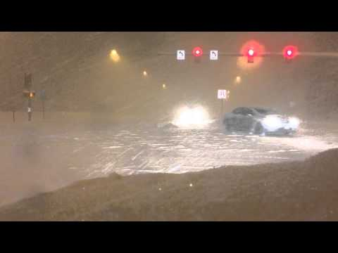Anchorage, Alaska Snow Storm 03/14/14