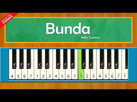 Not Pianika Lagu Bunda - Melly Goeslaw