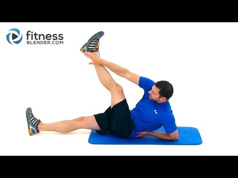 Quick 100 Rep Abs Workout - Intense Ab Workout at Home