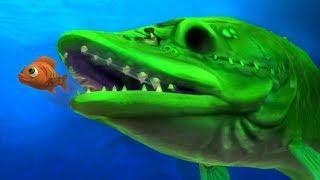 NEW GIANT ZOMBIE FISH ATTCK!!! - Fish Feed Grow