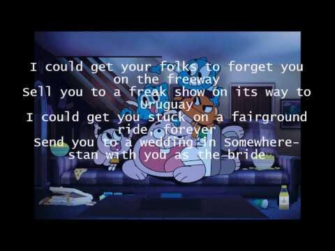 Goodbye~The Amazing World of Gumball Lyrics