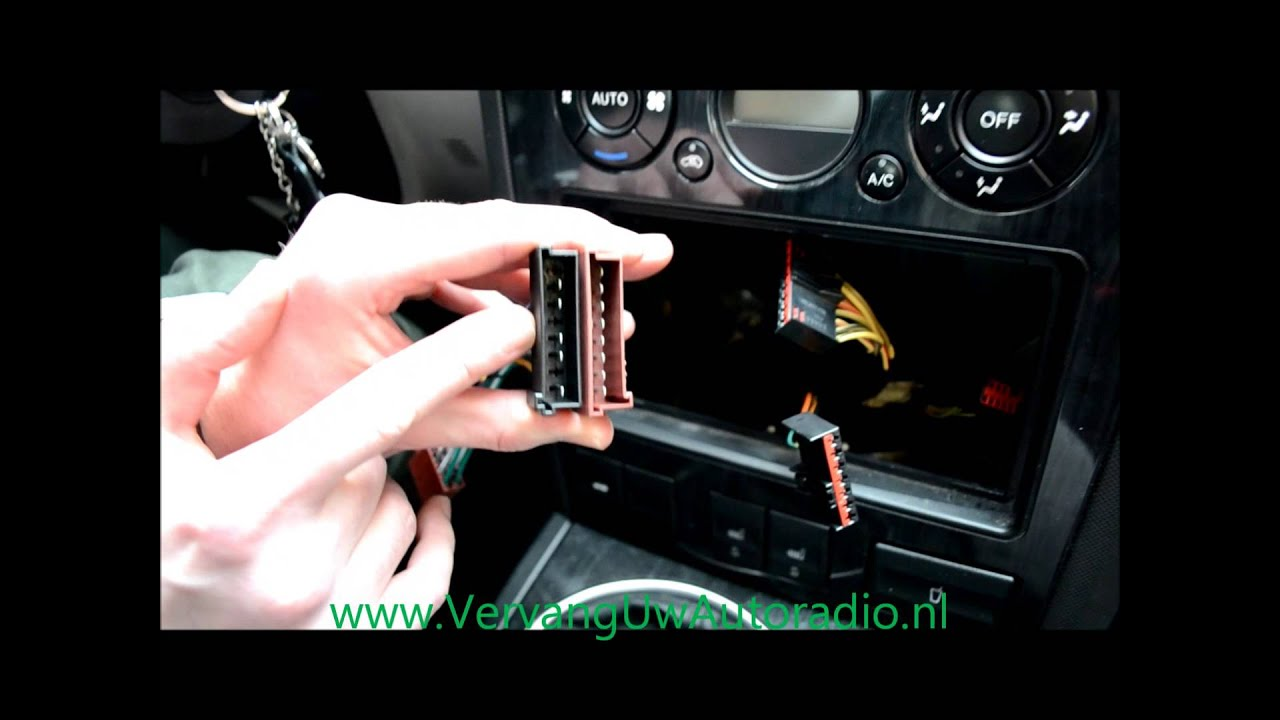 2007 Focus Wiring Diagram Iso Kabels Instructie Youtube