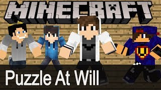 Minecraft: Puzzle At Will #05 w/ Undecided / GamerSpace / Happy
