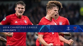 UEFA Champions League | Tottenham Hotspur v Bayern Munich | Highlights
