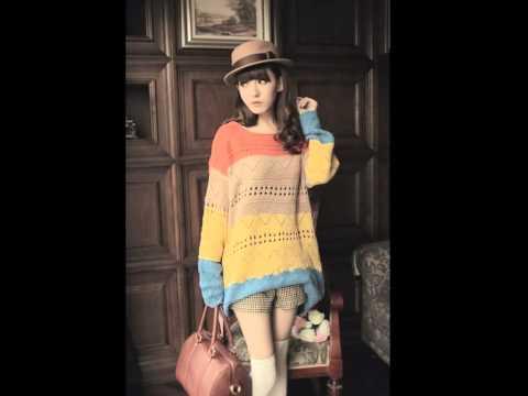 เสื้อกันหนาว เกาหลี ผ้าถัก