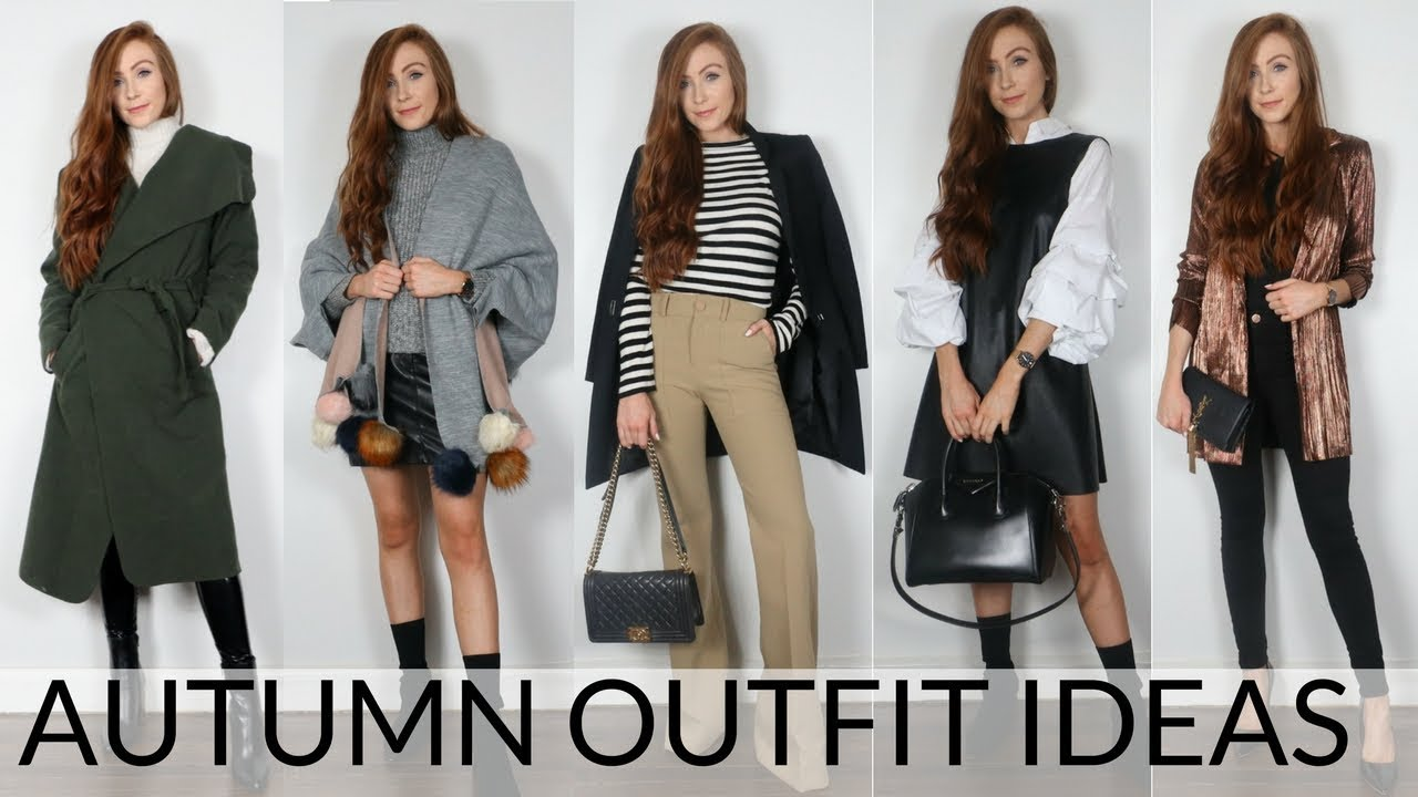 83d0c88eca2 6 EASY AUTUMN OUTFIT IDEAS | FALL OUTFITS 2017 - YouTube