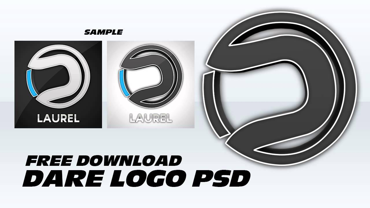 Dare Logo Psd Free Download Youtube