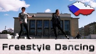 Shuffle & Freestyle Dancing with my Sister in Brno (CZ)! [Shuffle/Hip-Hop/Freestyle]