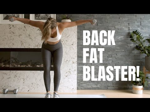 Back Fat Blaster!!! // Upper Body Workout with Weights