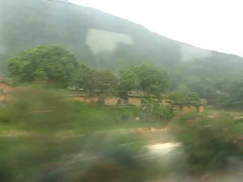 China Train Guangzhou to Guilin