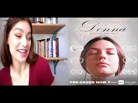 Catherine Daddario talks domestic violence drama 'Donna'   Plus a film with her sister Alexandra?