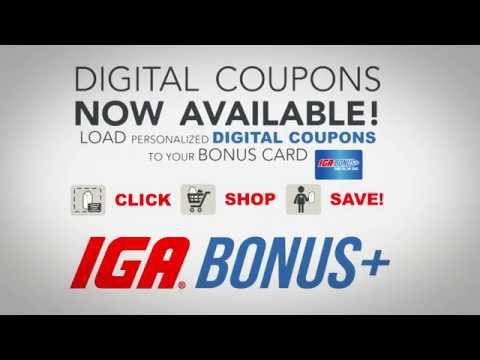 Digital Coupons Now at Darmstadt Buehler's IGA