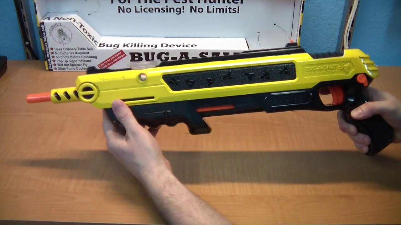 Review Of The Bug A Salt A Bug Killing Weapon Youtube