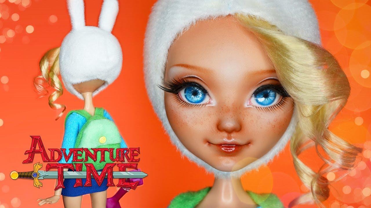 Fiona Adventure Time Custom Eah Doll Repaint