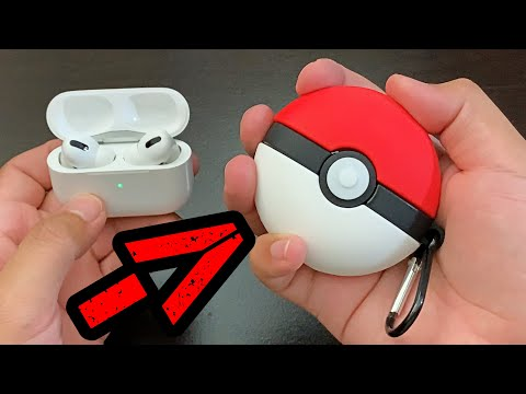 AirPods Pro- POKEMON BALL Case!! [Review]