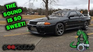 Single Turbo R32 Skyline GTR  - T51R Modded Precision 6266 Gen2 Turbo