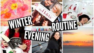Winter Evening Routine | velvetgh0st ♡ Thumbnail