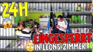 1 Tag lang EINGESPERRT in Leons Zimmer - 24h CHALLENGE mit Lulu und Leon - Family and Fun