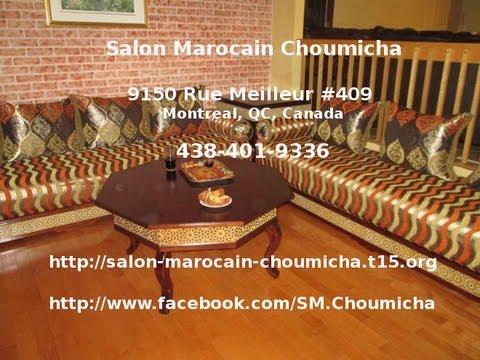 Salon Marocain Choumicha à Montréal - YouTube