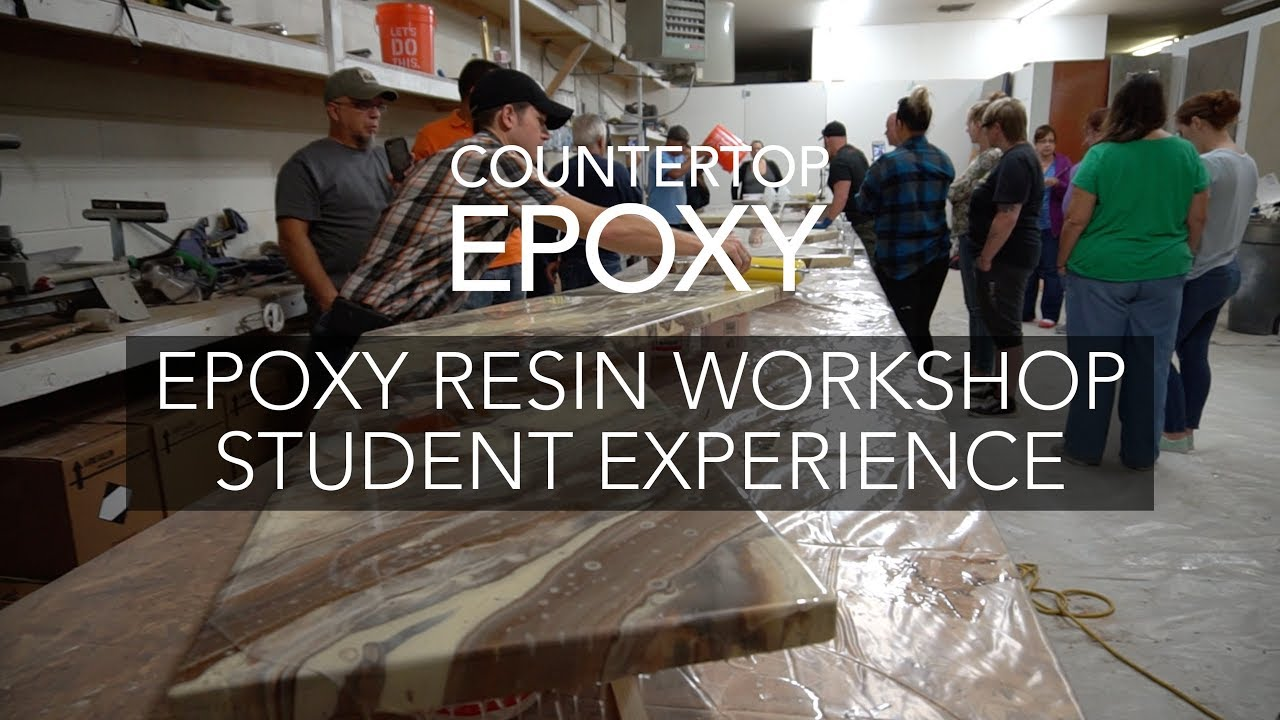 Introductory + Advanced Epoxy Resin Workshop