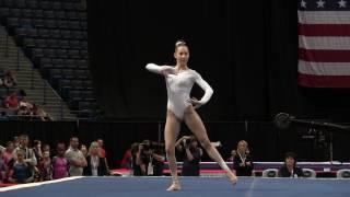 Alyona Shchennikova - Floor Exercise - 2016 Secret U.S. Classic - Junior