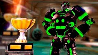 Real Steel Champions ZEUS ATOM BOT ZEUSATOM VS REGION II ROBOTS NEW ROBOT Живая Сталь