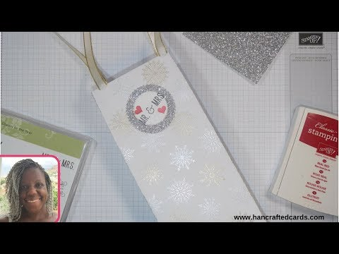 How to make a wedding gift bag 👰🤵 Tutorial by Hannah Jones