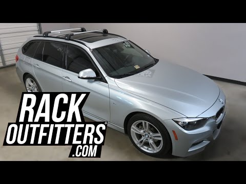 Compatible with BMW 3 Touring Aluminum Alloy Roof Rack Cross Bar Roof Rail Cargo Bars Compatible with BMW 3 Touring 2013-18 Size : for BMW 3 Touring 2013