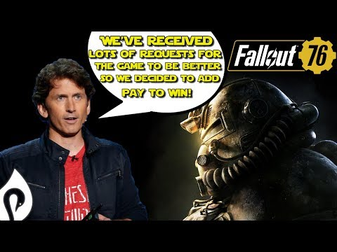 Fallout 76 Adds Pay To Win, Raises Huge Concerns For Elder Scrolls 6 thumbnail