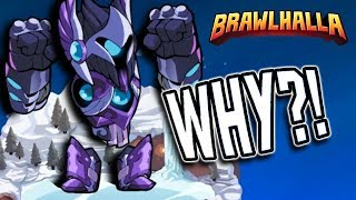 Why is Kor so OVERPOWERED Brawlhalla