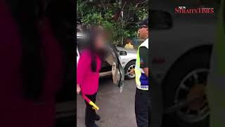 Puchong 'steering lock video' incident now a police case