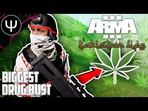 ARMA 3: Takistan Life Mod — Biggest DRUG Bust!