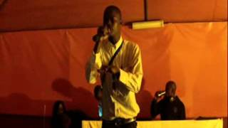 Pflow dissing Chaka Dolla at The Arts 28 March 2012