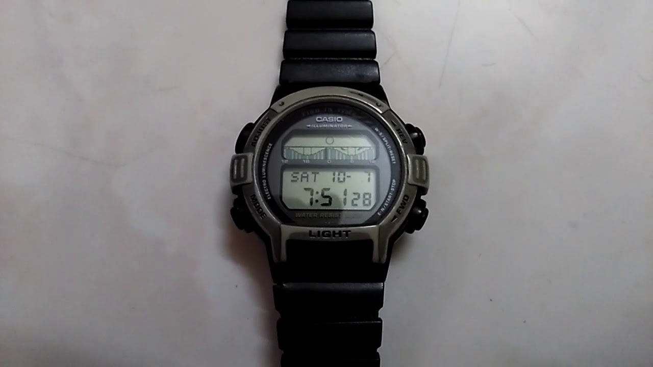 (Sold) Vintage Casio Forester FT 200 fish in time watch