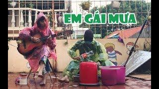 Em gái mưa acoustic version | Nhun Nhun Cover