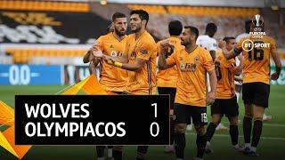 Wolves vs Olympiacos (1-0) | UEFA Europa League Highlights