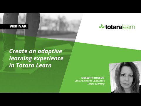 Creating An Adaptive Learning Experience