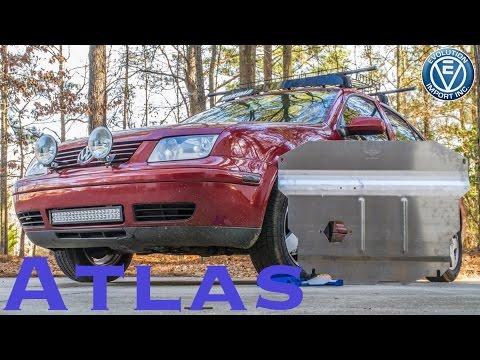 Atlas Skid Plate Install Evolution Import