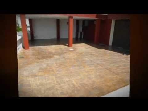 Soleras de hormig n impreso realizadas por pavimentos for Hormigon impreso youtube