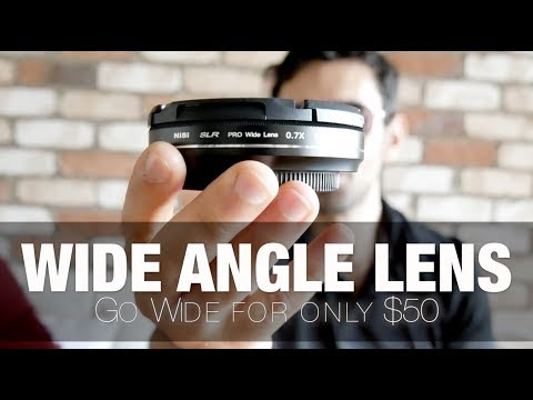 Best Wide Angle Lens Adapter | 0.7x is Great for Vlogging on Panasonic G85 GH5