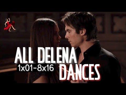 All Delena Dances   1x01 - 8x16   tvd   delenasvideo