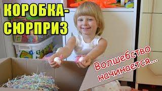 Коробка-сюрприз на Новый год для детей и взрослых от MAY LILLY. Что подарить ребенку на Новый год?