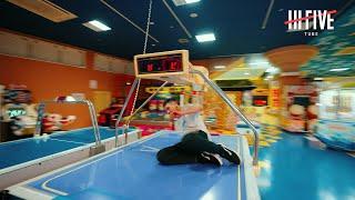 【やりたい放題】ゲームセンターでパルクール…!【 YURAI / EXHIBITION STAGE 006】|Parkour in Game center