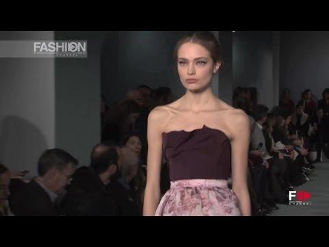 OSCAR DE LA RENTA Full Show Fall 2016 New York Fashion Week by Fashion Channel