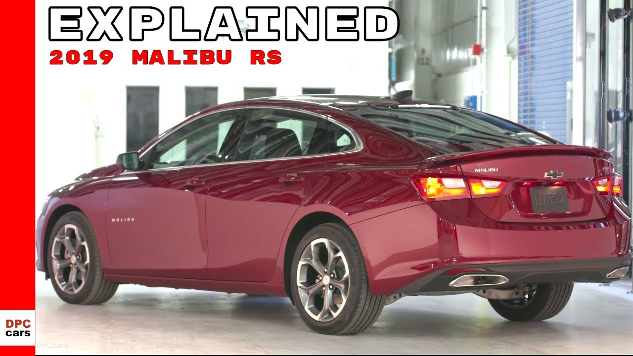 2019 Malibu >> 2019 Chevrolet Malibu RS - YouTube