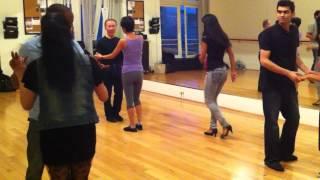 "Bachata Dance Class ""Por Amar A Ciegas, Arcangel"" w/Bryon Stroud & Sammantha Aries 8/9/12"
