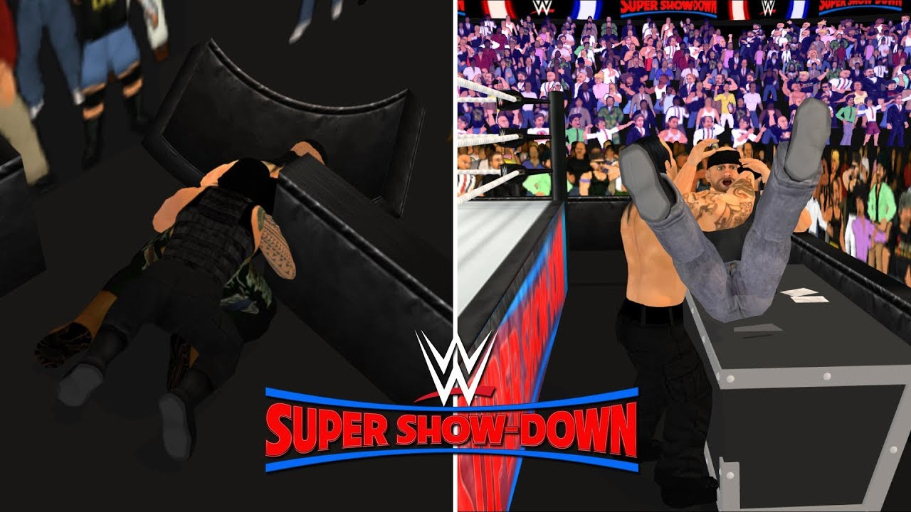 WWE Super Show-Down Highlights- WR3D 2K19 by HHH