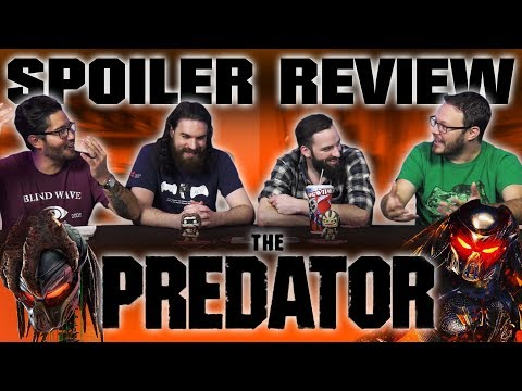 """The Predator"" Spoiler MOVIE REVIEW and DISCUSSION!!"