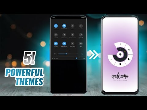 Top 5 Powerful Android Theme | Amazing Android Apps - Must Watch 2020