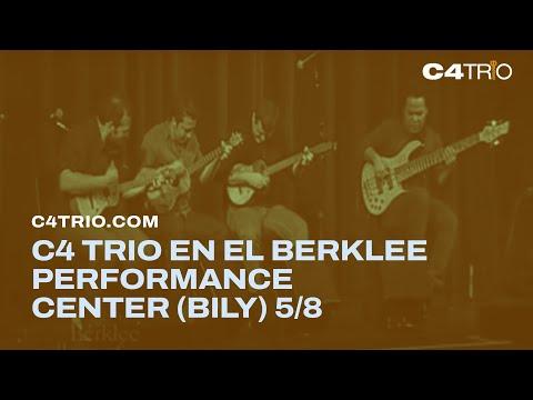 C4 Trio en el Berklee Performance Center (Bily) 5/8